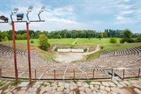 Hellenistic Theater at Dion. Pieria, Greece