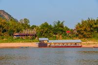 Luang Prabang from river side, Laos