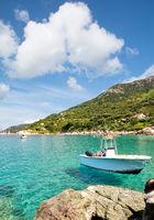 at Cabo San Andrea on Island of Elba,Tuscany,mediterranean Sea,Italy