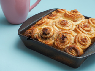 Tasty cinnamon pastry