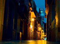 night street light