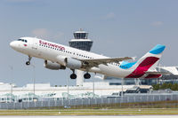 Eurowings Airbus A320 airplane Munich airport