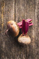Tasty raw beetroot.