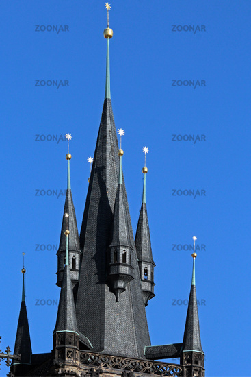 Church Teyn in Prague
