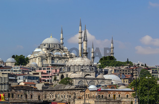 view of Suleymaniye Mosque, Istanbul