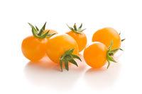 Tasty yellow tomatoes.
