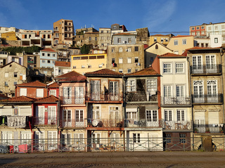 Houses along Douro River