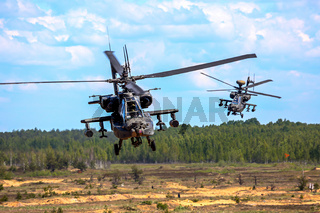 Saber Strike helicopters