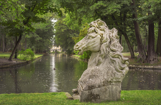 In the court garden of Bayreuth