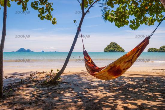 Hammock on the thai beach