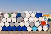 Metal Oil barrels