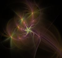 Multicolored fractal picture