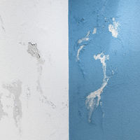 Paint peeling off from the wall