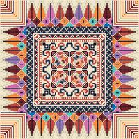 Palestinian embroidery pattern  127