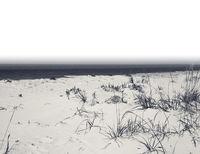 Sea and sand on deserted beach