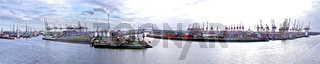 Containerhafen Hamburg Hamburg Panorama