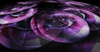 Digital 3d Illustration of Fairy Eyes