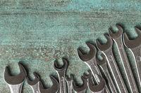 Chrome vanadium wrench.
