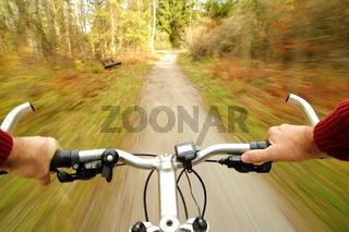schneller Radsport