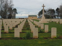 Canadian cemetery at Juno beach in Normandy