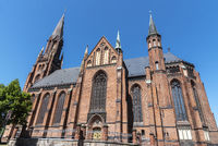 St. Paul´s church, Schwerin, Mecklenburg-Western Pomerania, Germany, Europe