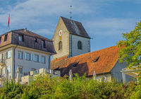 Castle and Old Church, Romanshorn, Canton Thurgau, Switzerland