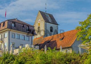 Schloss und Alte Kirche, Romanshorn, Kanton Thurgau, Schweiz