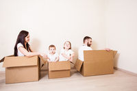 Moving house family day