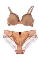 Set beige lingerie