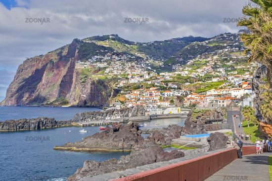 Cliff Path, Camara De Lobos, Madeira, Portugal