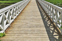 Holzbruecke | wooden bridge