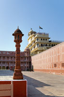 India. Jaipur. City Palace- Palace of the maharaja.