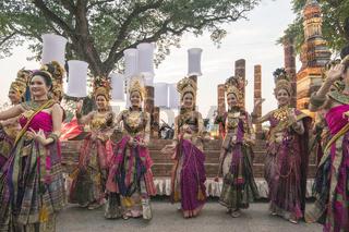 ASIA THAILAND SUKHOTHAI LOY KRATHONG TRADITION