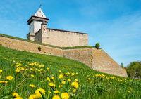 Medieval stronghold. Narva, Estonia, EU