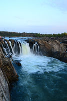 Dhuandhar falls located on Narmada river, Bedaghat, Madhya Pradesh, India