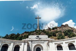 Outdoor view of The Valle de los Caidos or Valley of the Fallen.