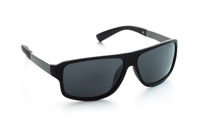 Black classic polarized sunglasses