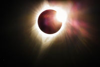 Solar Eclipse as Seen from Oregon, USA, August 2017