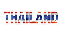 thailand flag text font