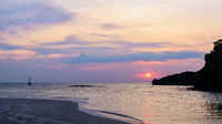 Sunset over the sea at Tarutao island, Thailand