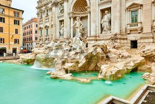 Fountain di Trevi in Rome