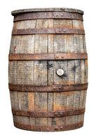 Vintage Wooden Beer Or Whiskey Barrel