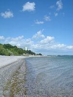 Beach of Sierksdorf at baltic Sea,Schleswig-Holstein,Germany