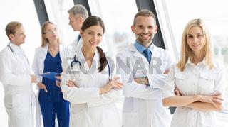 Team of medical doctors