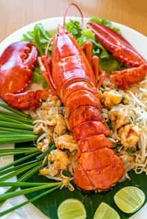 Pad thai lobster