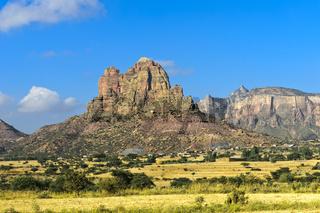 Grosser Afrikanischer Grabenbruch,nördliche Ausläufer mit dem Gheralta Bergmassiv,Aethiopien