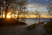 The Luebeck Bay in the Baltic Sea