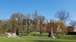 Das ehemalige Zisterzienserkloster Chorin im Land Brandenburg