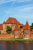 The Malbork Castle in Poland