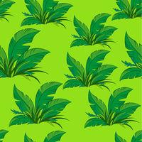 Seamless Pattern, Green Plants